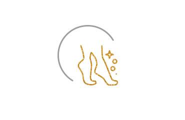 Fußpflege · 25,50 € <br/><br/> Fußpflege (mit Striplack) · 35 € <br/><br/> Mobile Fußpflege · 45 € <br/><br/> Nageldesign Normal (Nagelkorrektur, feilen, Glanzlack, Handpflege) · 20 € <br/><br/>